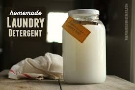 homemade laundry detergent the