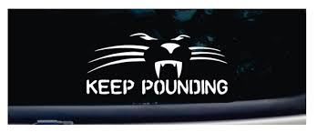 Panther Car Decal Gifts For Panthers Fans Charlotte Stories