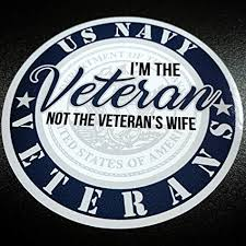 Amazon Com Women Navy Veterans Sticker Everything Else