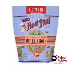 organic rolled oats by bob s red mill