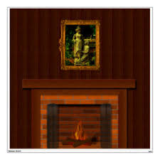 Fireplace Wall Decals Stickers Zazzle