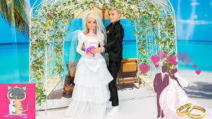 Cuộc Sống Của Barbie & Ken - Ngày Lễ Đám Cưới Tại Bãi Biển - Hoạt ...