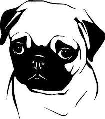 Pug Dog K9 Vinyl Decal Sticker Ebay