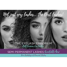 Not Just Any Lashes The Best Lashes Window Decal The Eyelash Emporium