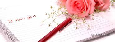roses i love you pen paper facebook
