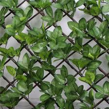China Wholesale Anti Uv Easy To Install Expandable Faux Ivy Trellis China Trellis Hedges And Outdoor Artificial Expandable Hedge Price