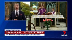 George Pell walks free as Australia ...
