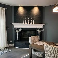 painted fireplace ideas interior designs