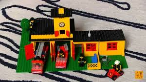lego classic 1978 - 374 - FIRE STATION timelapse - YouTube