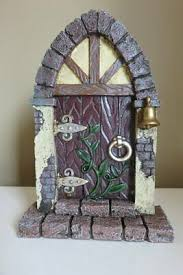 Fairy Door with Ivy Bell Cottage Style 9 inches tall Fairy Village New  Fairies   eBay