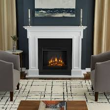 thayer white electric fireplace
