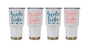 Bride Tribe 3 Decal Vinyl Sticker For Wine Glass Cup Brides Wedding Ebay