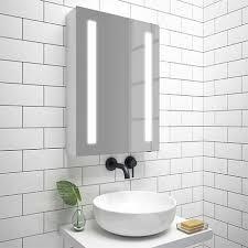 turin 500x700mm led illuminated mirror