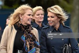 25 September 2014; Allison McGinley, right, wife of Paul McGinley,... News  Photo - Getty Images