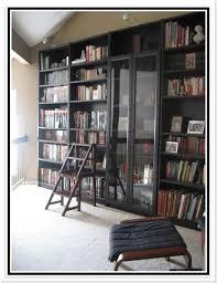 ikea hemnes bookcase glass doors ikea