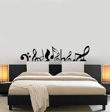 Musical Notes Vinyl Wall Decal Music Above Bed Sofa Room Decor Art Sti Wallstickers4you