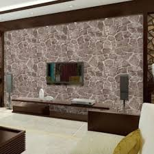 Worldwide Free Shipping Pvc Home Decor Wall Decal Sticker Wallpaper Rectangle Brown Rock Stone Pattern 100cm 39 3 8 X 45cm 17 6 8 1 Sheet Ws247914 At Incredible Low Price Doreenbeads Com