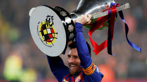 Lionel Messi scores as Barcelona win another La Liga title