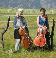 Tango Twosome duo cellists with Priscilla Hawkins and Patricia Valentine -  Westminster Presbyterian Church