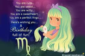 virgo birthday horoscopes dgreetings