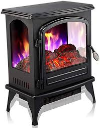 atten flame fireplace heating stove
