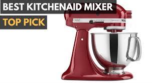 top 5 best kitchenaid mixers pared