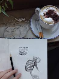 coffee drawing quotes words image on com
