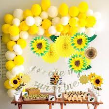 Decoracion De Fiesta De Cumpleanos You Are My Sunshine Pompon De
