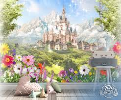 Wall Mural Disney Castle Muraldecal Com