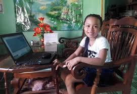 Hai bé 9 tuổi đạt giải cao Olympic tiếng Anh nhờ học trực tuyến