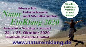 NaturEinKlang, Messe für Lebensfreude und Wohlbefinden, Aussteller,  Vorträge, Konzert