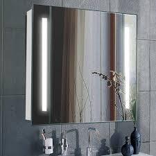 led mirror cabinet cupboard bathroom