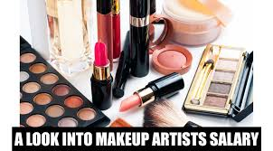 how much the average makeup artist
