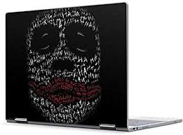 Amazon Com Skinit Decal Laptop Skin Compatible With Pixelbook Officially Licensed Warner Bros Joker Put A Smile On That Face Design Electronics