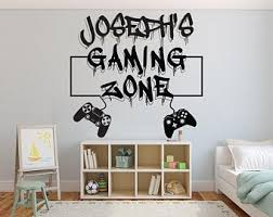 Video Game Wall Decals Etsy