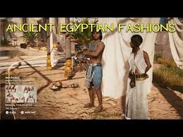 daily life ancient egyptian fashions