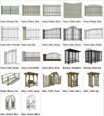 Sketchup Landscape 3d Models Download House Gate Design Architecture Model Landscape Model