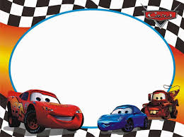 Cars Free Printable Photo Frames Cars Theme Birthday Party