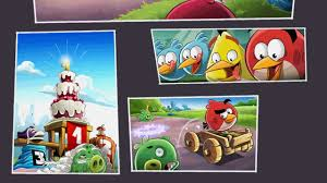ANGRY BIRDS GO TIME BOOM ON STUNT TRACK Android iOS Gameplay - YouTube