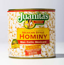 cook with canned and dried hominy