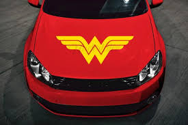 Classic Wonder Woman Hood Decal 32 Multi Use Vinyl Sticker For Car Truck Rv Boat Door Glass Mirror And More Am Vinyl Car Stickers Wonder Woman Used Vinyl