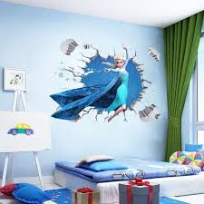 Large Elsa Disney Frozen Wall Stickers Kids Wall Decals Wall Decals Disney Frozen