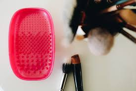 the real techniques brush cleansing