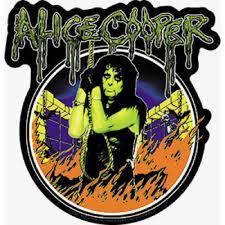 Alice Cooper Flames Sticker Orignal Artwork Vinyl Decal Sticker 4 6 X 4 75 Walmart Com Walmart Com
