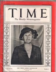 Time Magazine 1936 January 27 Abby Greene Aldrich Rockefeller   eBay