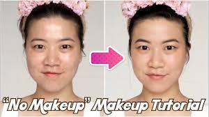no makeup makeup tutorial asian
