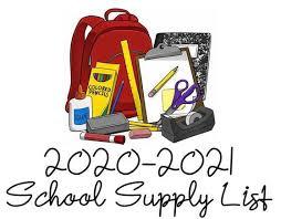 School Supply Lists - Yazoo County School District