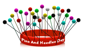 """Image result for Pins and Needles Day 2019"""""""