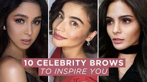 watch 10 celebrity brows to inspire