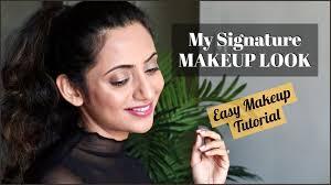 My Everyday Signature MAKEUP LOOK   Easy Makeup Tutorial   Himani Aggarwal  – Beauty, Hair, Nail & Skin Tutorials